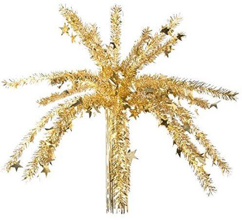 Autour de Minuit 5ETI006OR lampa wisząca na Boże Narodzenie, studnię, PCW, 129 x 137 cm, kolor złoty