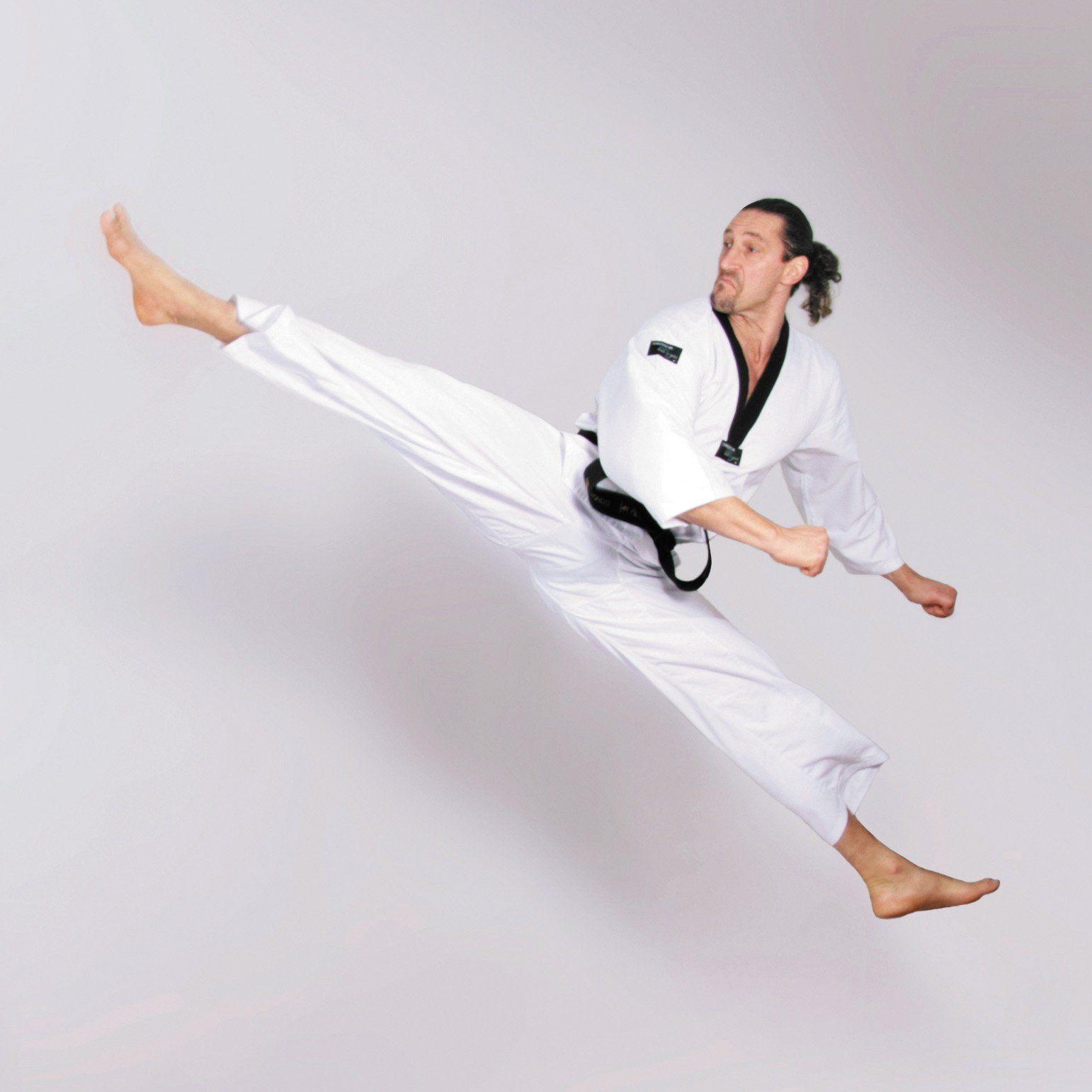 DEPICE Taekwondo garnitur Taeryon, biały, 190 cm