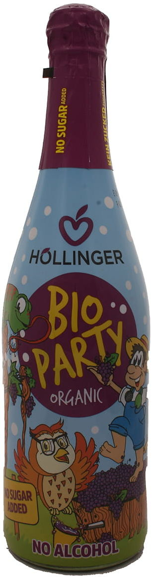 Napój musujący dla dzieci BIO Party - Hollinger - 750 ml