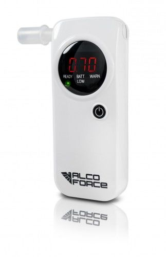 Alkomat elektrochemiczny EVO-1, 12 miesięcy kalibracji + zapas ustników