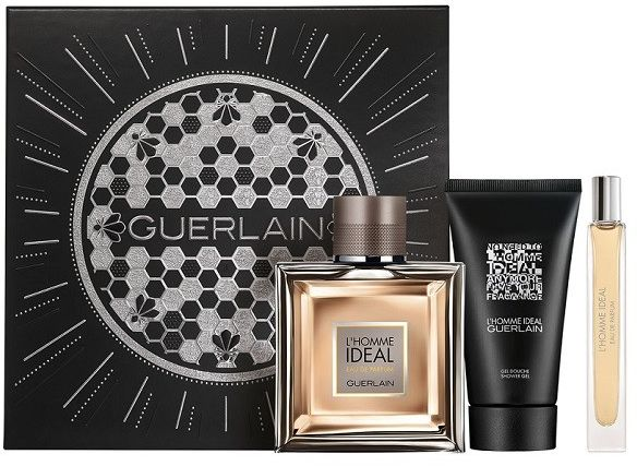 Guerlain L''Homme Ideal żel pod prysznic 75ml + miniaturka 10ml + woda perfumowana - 100ml