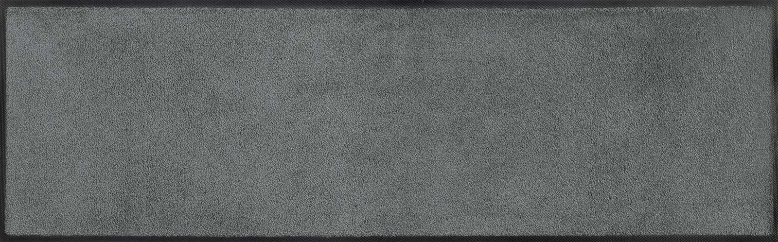 Wycieraczka, 100% poliamid, szary, 35 x 120 cm