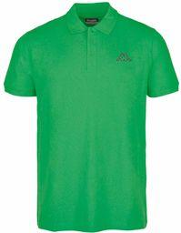 Kappa Sweeny Unisex koszulka polo, klasyczna zieleń, XXXL