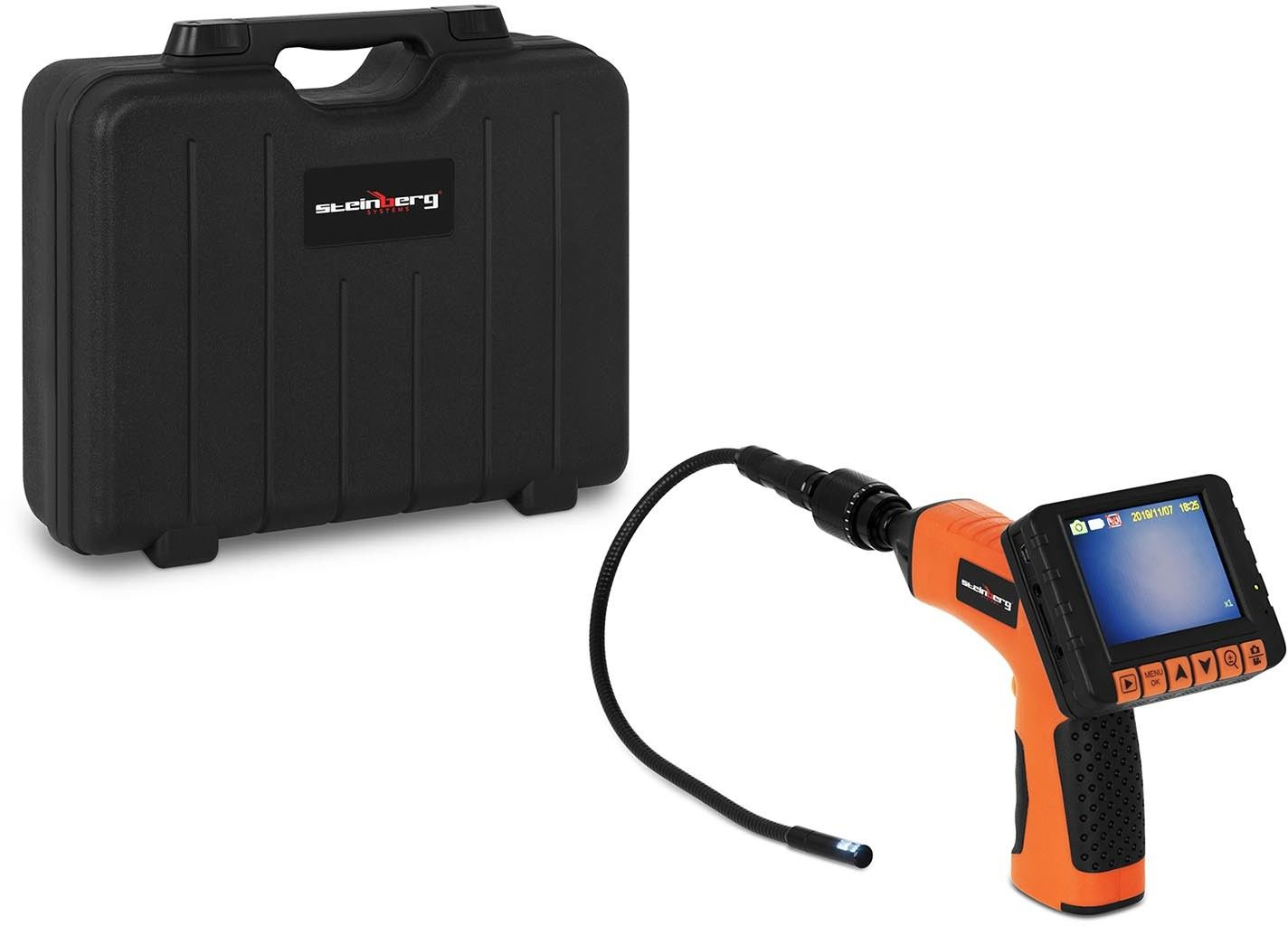 Kamera endoskopowa - 430 mm - 10 mm - Steinberg Systems - SBS-EC-10 - 3 lata gwarancji/wysyłka w 24h