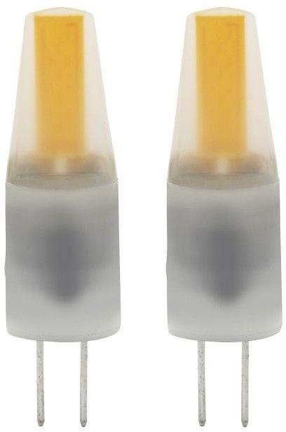 Żarówka LED Diall G4 2,3 W 180 lm przezroczysta barwa ciepła 2 szt.