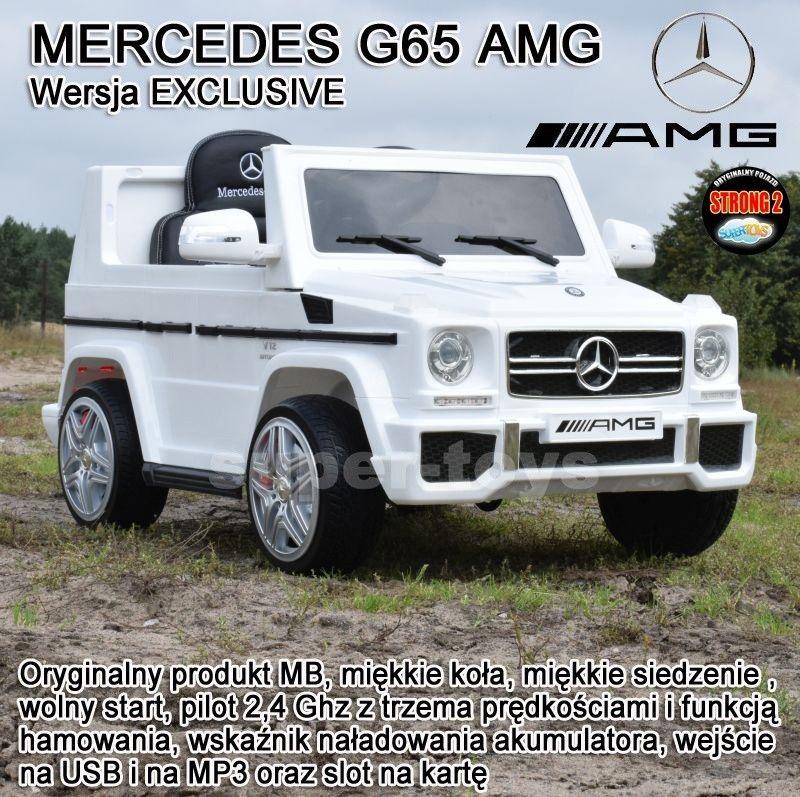 MERCEDES G65 AMG DWA SILNIKI,MIĘKKIE KOŁA, MIĘKKIE SIEDZENIE. MOCNY/LS528