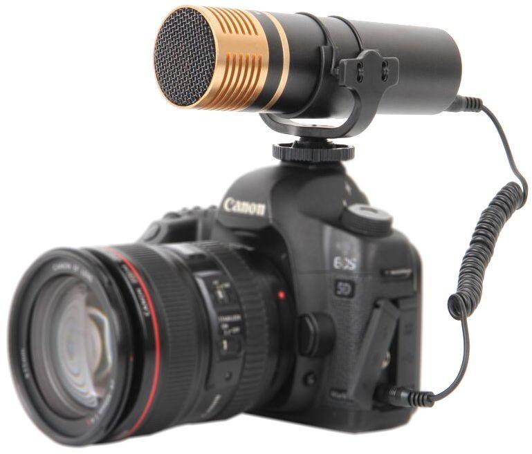 Boya VM300PS mikrofon do kamery odblaskowej czarny