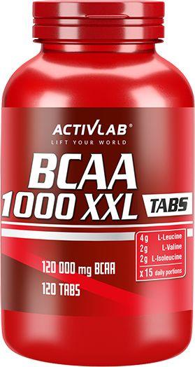 ActivLab BCAA XXL 1000 - 120 tabs