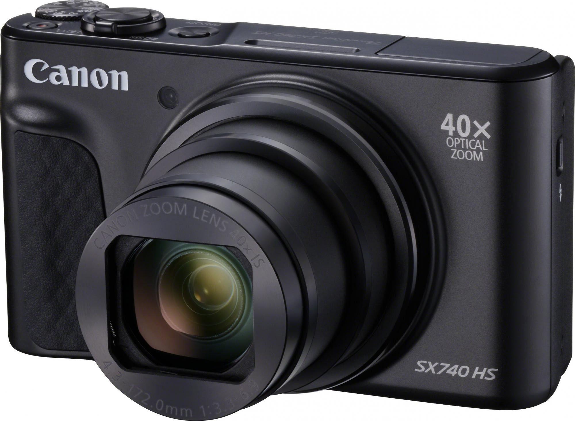 Canon PowerShot SX740 HS Czarny