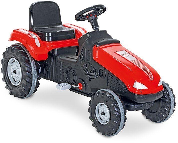 WOOPIE Traktor MEGA Na Pedały Czerwony