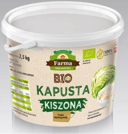 Kapusta kiszona bio 3 kg - farma świętokrzyska