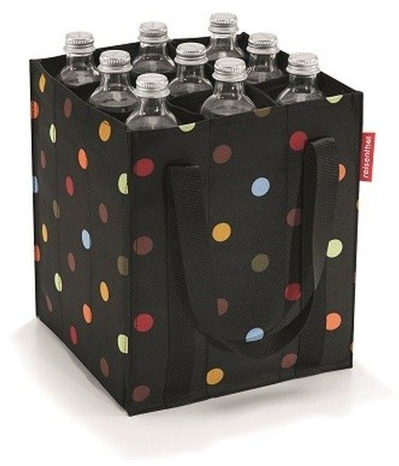 Reisenthel - koszyk na butelki bottlebag - dots