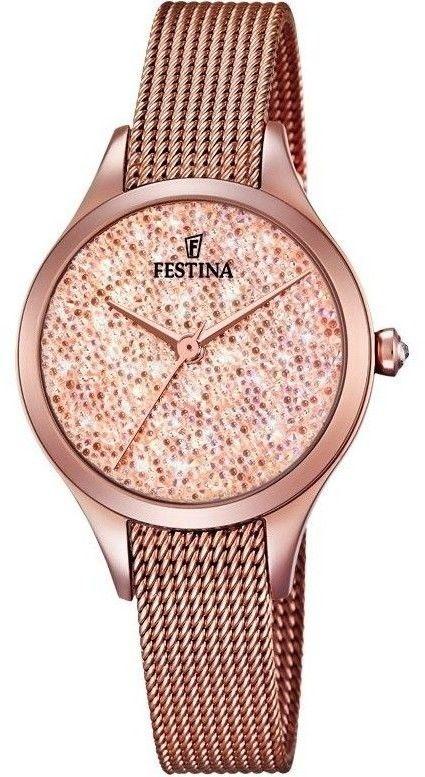 Zegarek Festina F20338-2 Swarovski - CENA DO NEGOCJACJI - DOSTAWA DHL GRATIS, KUPUJ BEZ RYZYKA - 100 dni na zwrot, możliwość wygrawerowania dowolnego tekstu.