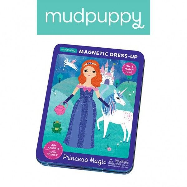Mudpuppy Magnetyczne Postacie Magiczne Księżniczki 4+