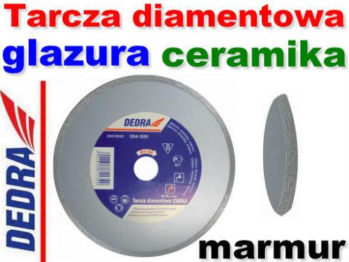 Tarcza diamentowa ciągła do cięcia glazury, ceramiki, marmuru 150/22,2mm DEDRA H1133