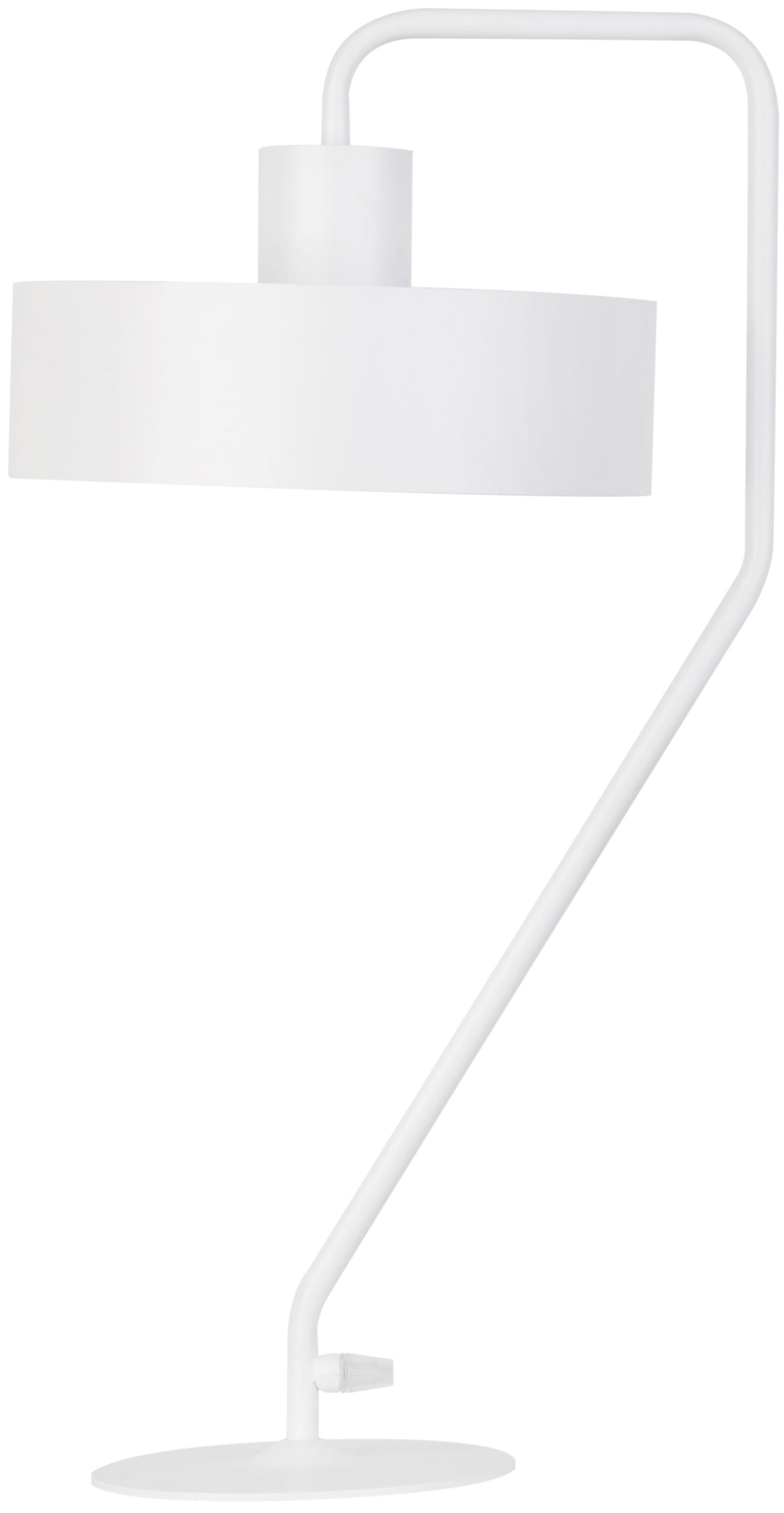 Lampka metalowa nowoczesna Vasco biała 50119 - Sigma Do -17% rabatu w koszyku i darmowa dostawa od 299zł !