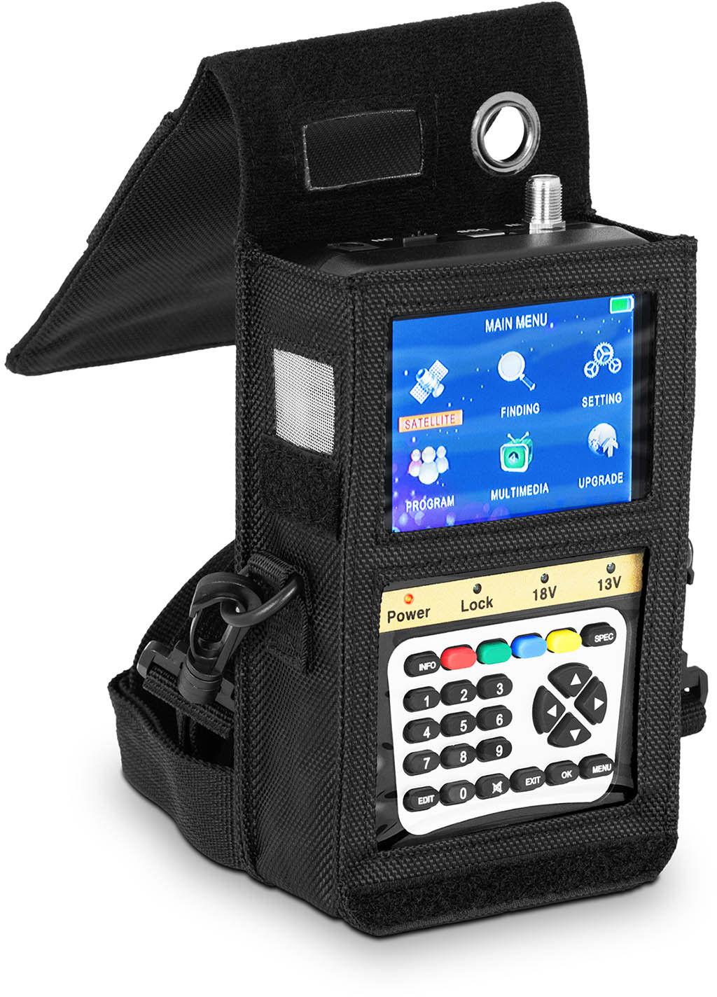 Miernik sygnału satelitarnego - DVB-S2 - DiSEqC 1.0-1.3 - Steinberg Systems - SBS-SF-2000 - 3 lata gwarancji/wysyłka w 24h