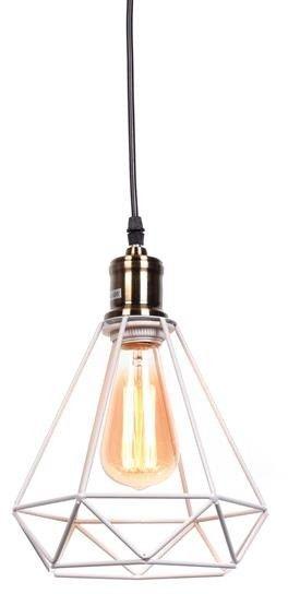 Cobi lampa wisząca 1-punktowa biała LDP 11609 (WT)