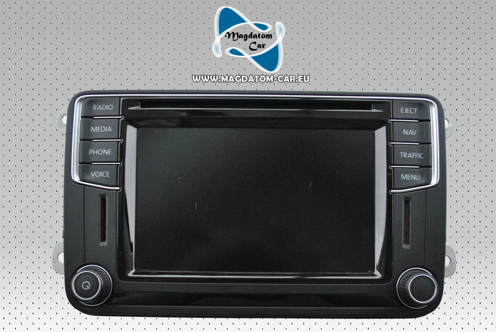 Oryginalne Radio Nawigacja 7N Discover Media Navigation Volkswagen Beetle Caddy Camper T6 CC Golf 6 Jetta Scirocco Sharan Tiguan 5C0035680E
