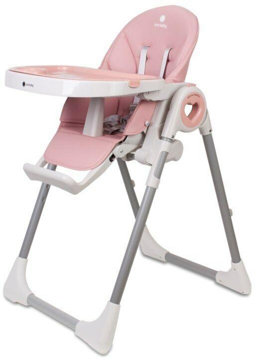 Krzesełko do karmienia Fidi Love Pink
