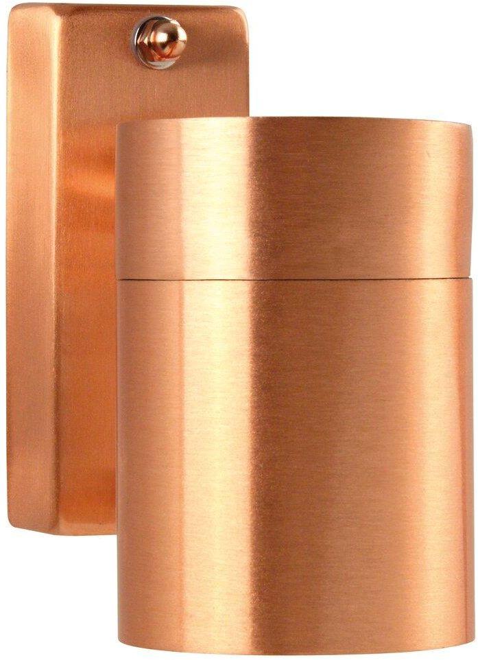 Kinkiet zewnętrzny Tin 21269930 Nordlux pojedyncza oprawa w kolorze miedzi