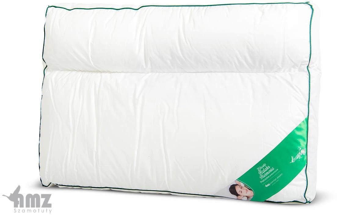 Poduszka Anatomiczna AMZ Materacowa 50x70 dwukomorowa bawełna