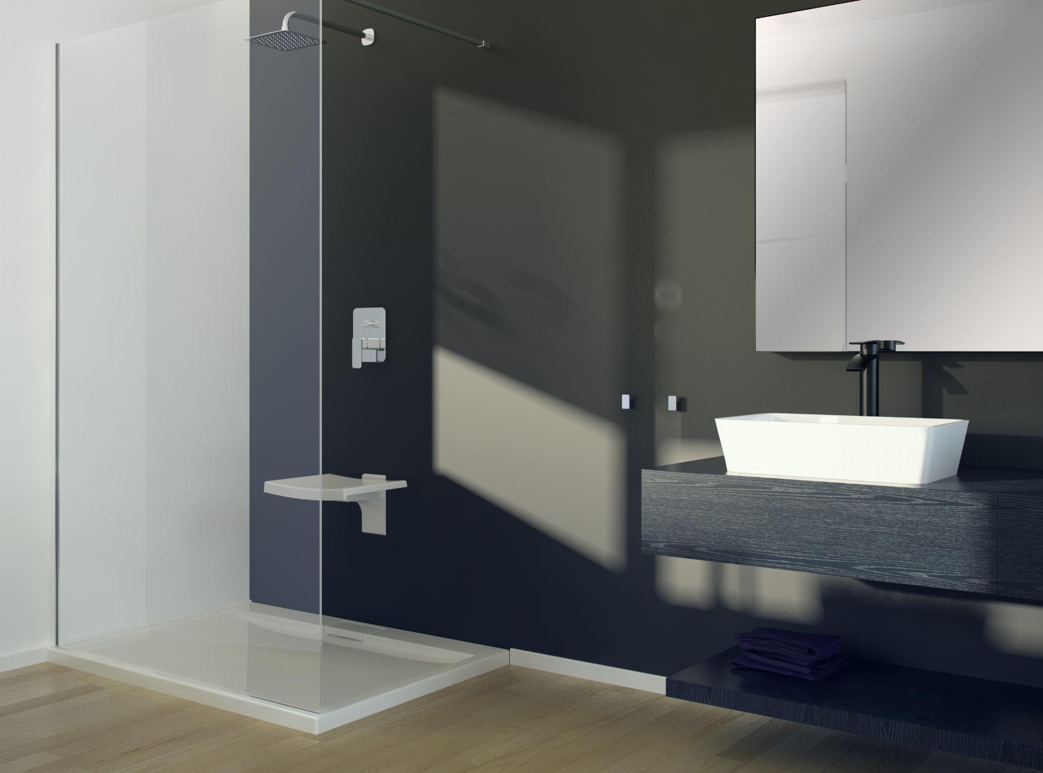 Besco umywalka nablatowa Assos 40x50x15 cm biała