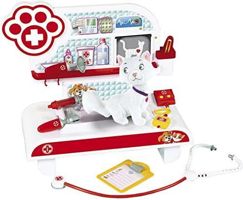Theo Klein 4817 - stacja do pielęgnacji zwierząt z kotem