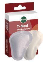 Samoprzylepna Półwkładka na płaskostopie poprzeczne T-Med Kaps