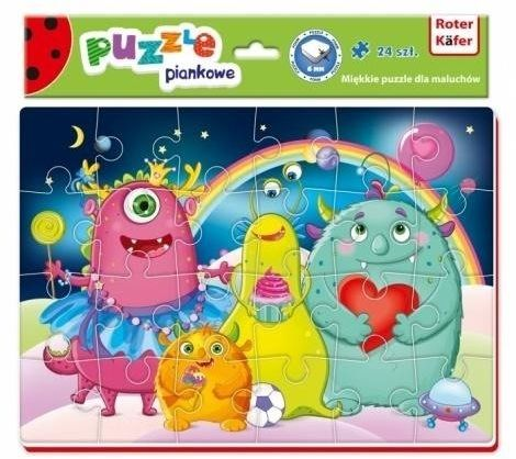 Miękkie puzzle A4 Śmieszne zdjęcia Potworki