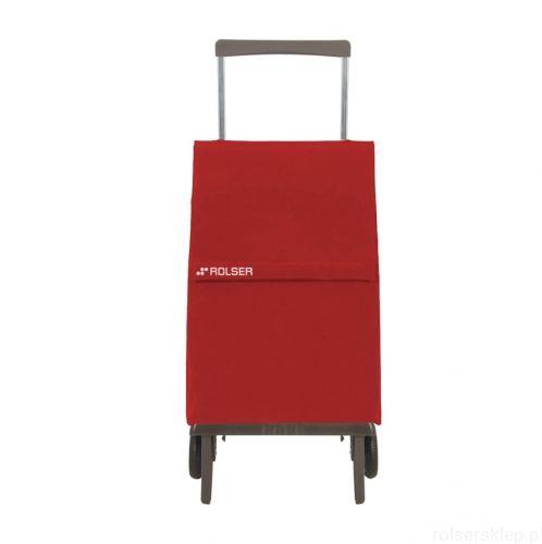 Wózek na zakupy Rolser PLEGAMATIC Original MF Rojo SKŁADANY