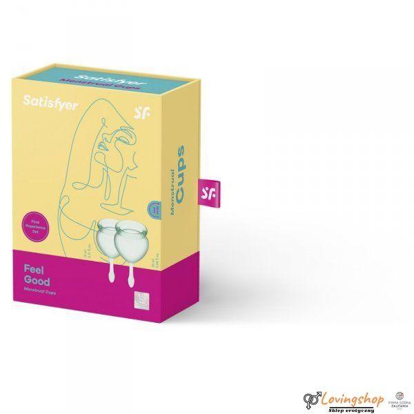Tampony - Feel Good Menstrual Cup (light green)