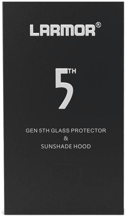 GGS Larmor GEN5 + NS-3243 - osłona LCD + osłona przeciwsłoneczna do Sony A7II, A7III, A9 GGS Larmor GEN5 + NS-3243