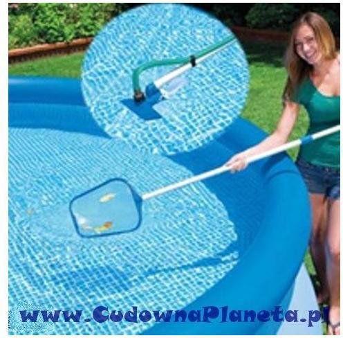 Zestaw czyszczący do basenu, odkurzacz INTEX 28002