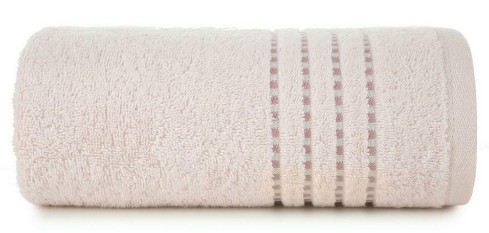 Ręcznik 50x90 Fiore różowy jasny 500g/m2 Eurofirany
