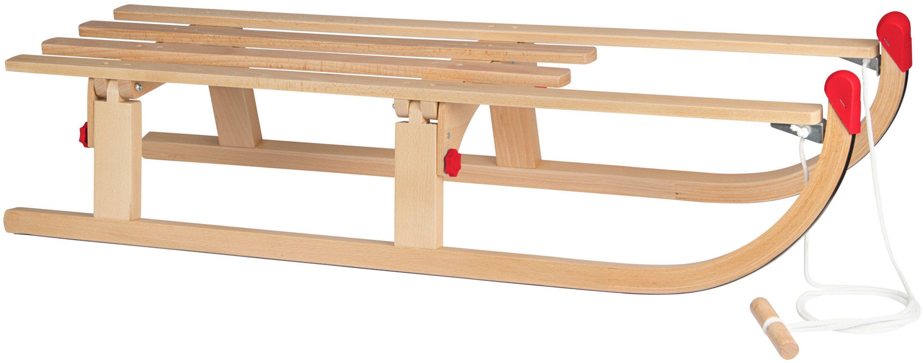 Sanki drewniane składane III Nijdam