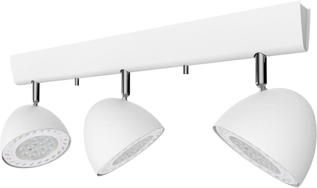 Plafon Vespa 9592 Nowodvorski Lighting biała potrójna oprawa w nowoczesnym stylu
