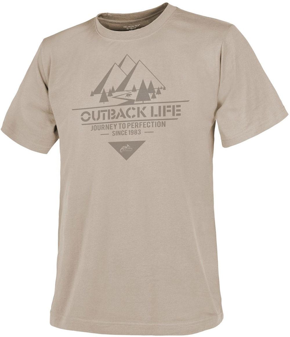 "Koszulka T-Shirt Helikon ""Outback Life"" Beige (TS-OBL-CO-13)"