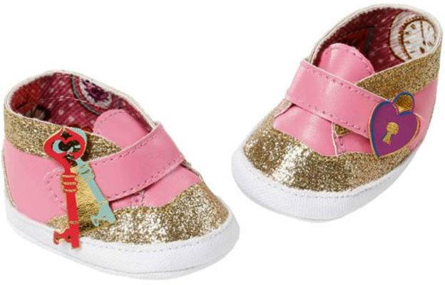 Baby Annabell - Różowe buty ze złotym brokatem 700853