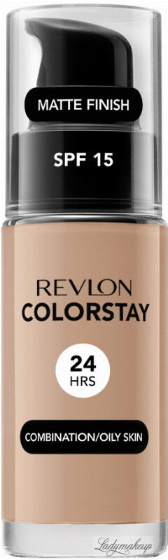 REVLON - COLORSTAY  FOUNDATION - Podkład do cery tłustej i mieszanej - 30 ml - 320 - TRUE BEIGE