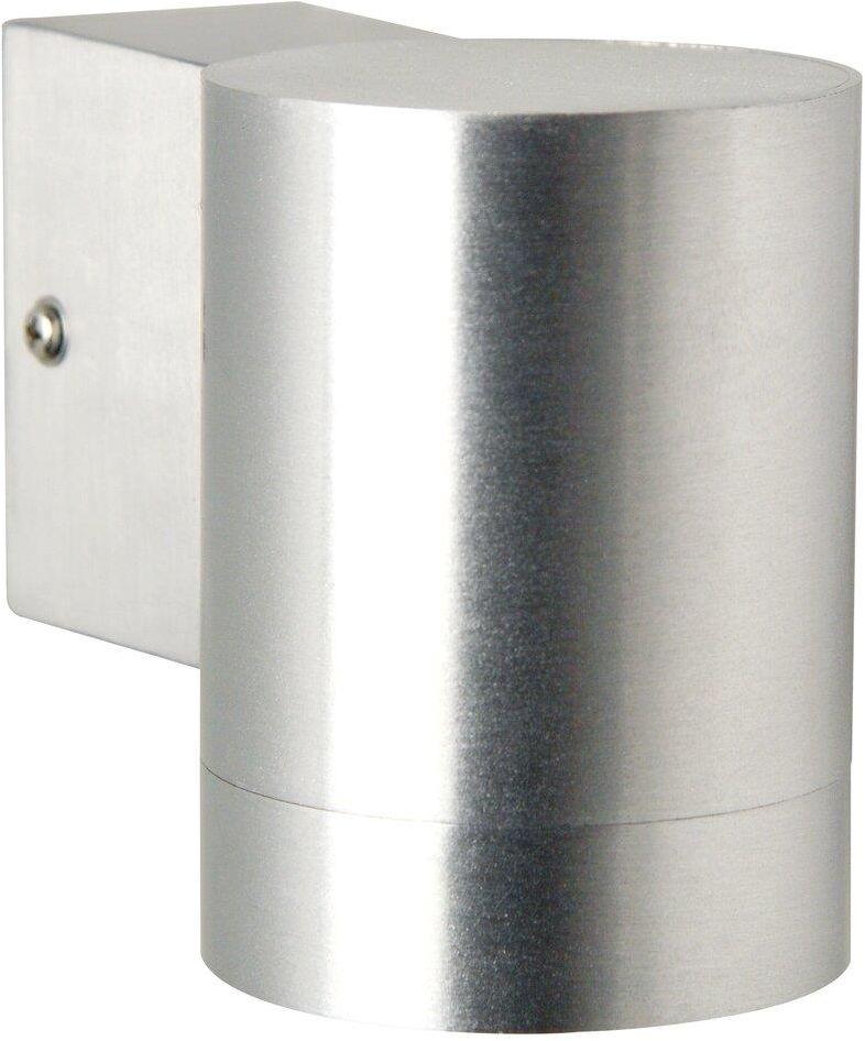 Kinkiet zewnętrzny Tin Maxi 21509929 Nordlux pojedyncza oprawa ścienna w kolorze aluminiowym