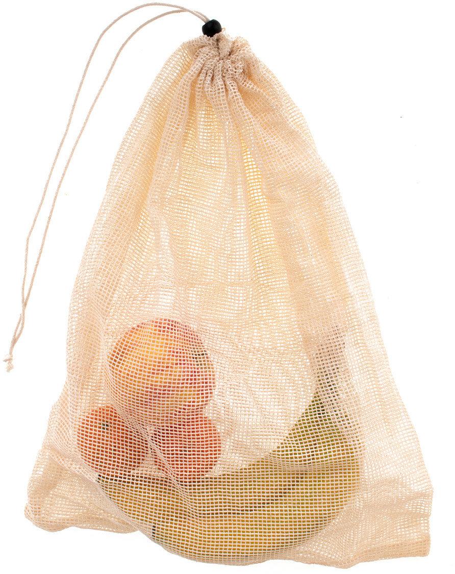 Woreczek ekologiczny na warzywa i owoce wielorazowy 35 x 45 cm