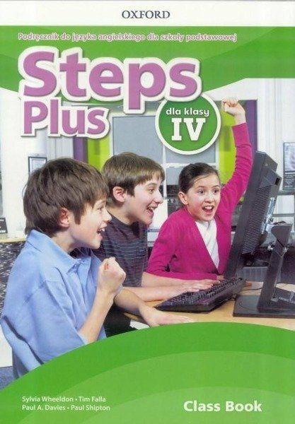 Steps Plus. Szkoła podstawowa klasa 4. Podręcznik + nagrania audio - Sylvia Wheeldon, Tim Falla, Paul Davis A., Paul Shipton