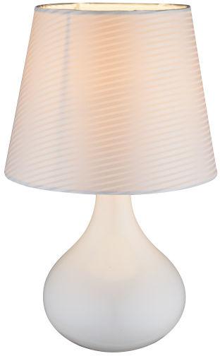 Globo FREEDOM 21650 lampa stołowa biała 1xE14 17cm