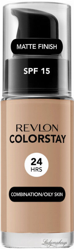 REVLON - COLORSTAY  FOUNDATION - Podkład do cery tłustej i mieszanej - 30 ml - 330 - NATURAL TAN