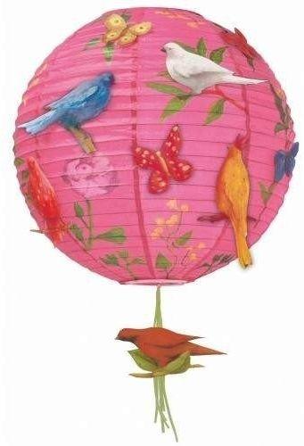 Abażur ptaszki