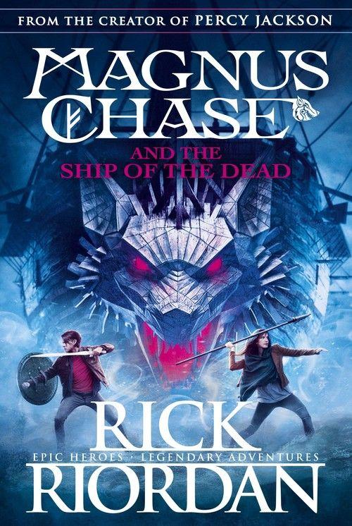 Magnus Chase and the Ship of the dead ZAKŁADKA DO KSIĄŻEK GRATIS DO KAŻDEGO ZAMÓWIENIA