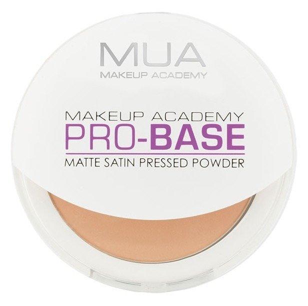 MUA Pro-Base Matte Satin Pressed Powder - Prasowany puder do twarzy Soft Beige 6,5g