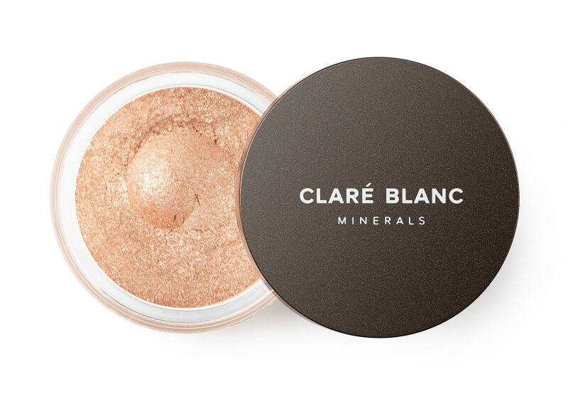 CLARÉ BLANC - DR MAKEUP COLLECTION - MINERAL EYE SHADOW - Mineralny cień do powiek - SALTED CARMEL 873