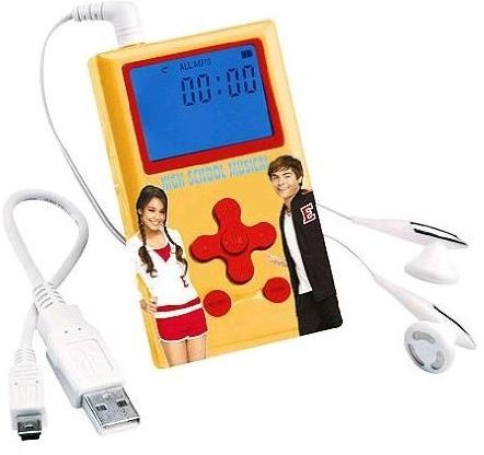 Lexibook Odtwarzacz MP60HSM - Disney High School Musical MP3 (125 MB)